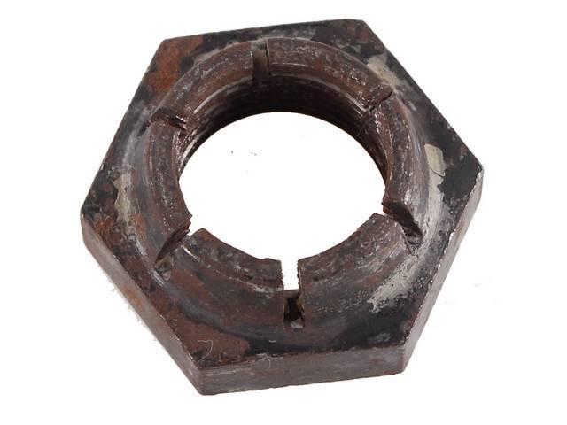 NUT, LOCKING, Axle Pinion, original, Cone type elastic