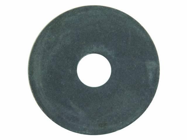 WASHER, FLAT, STEEL, 1.25 INCH O.D. X .315
