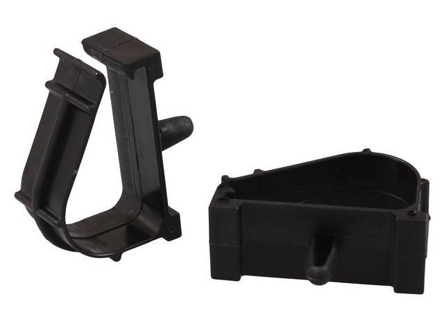 Clips Wiring Black Plastic 88 Inch Bundle Capacity