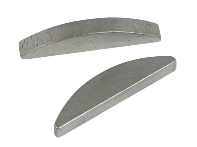 Key, Woodruff Crankshaft Sprocket, To Crank, 3/16 Inch X 1 13/32 Inch, High Performance, Heat Treated To Minimize Wear, Designed To Replace O.e Keys