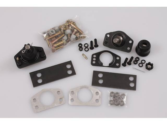 NEGATIVE CAMBER WEDGE KIT, Lowers control arm 1