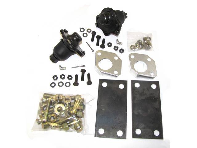 Negative camber wedge kit, 1 3/4 inch, Mustang,