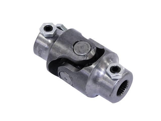 COUPLER, Steering Shaft, U-joint, Ididit column, 3/4 inch