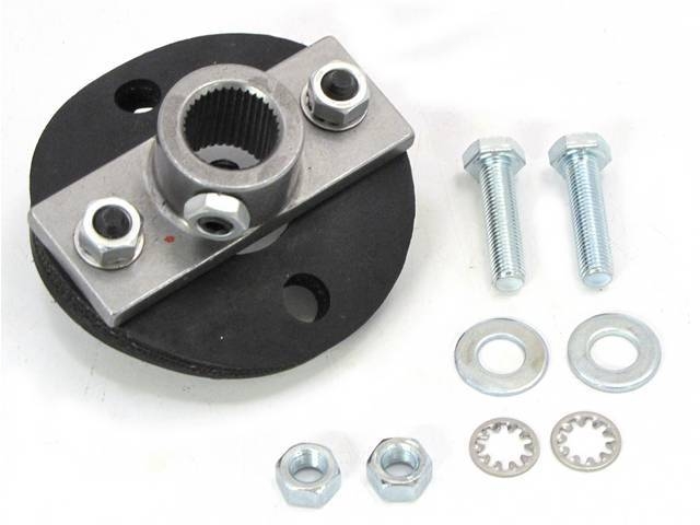 COUPLER ASSY, STEERING GEAR, TO SHAFT, REPLACEMENT STYLE,