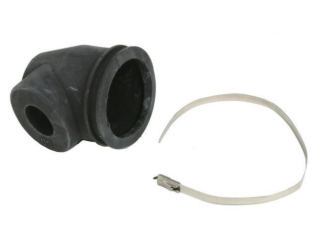 BOOT, Power Cylinder Drag Link End, Incl correct