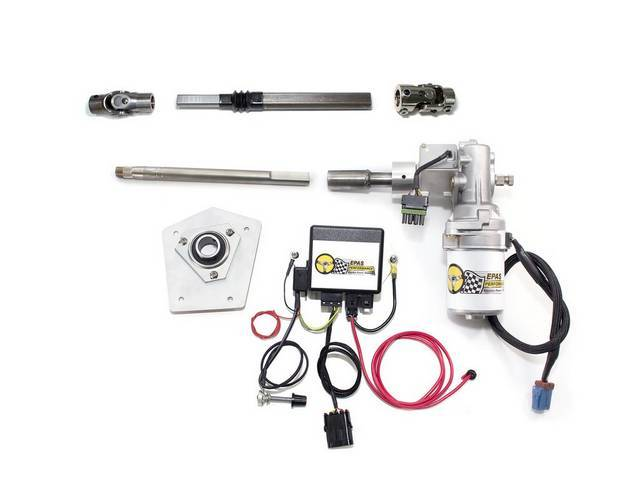 POWER STEERING CONVERSION, Electric, Computer controlled motor senses