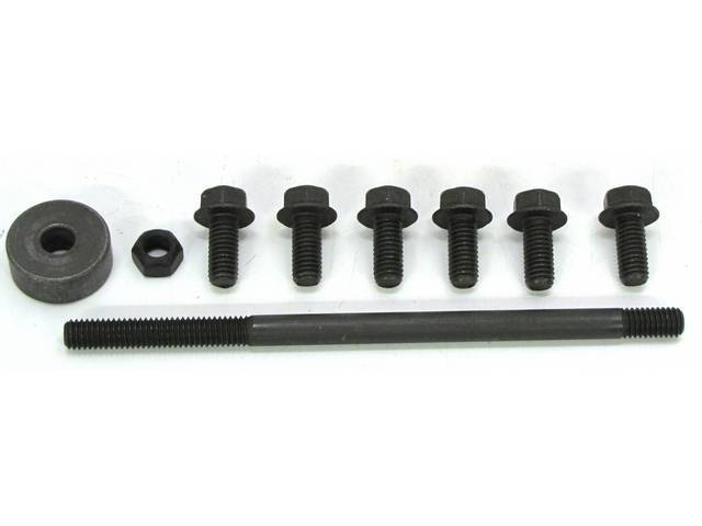 MOUNTING KIT, Power Steering PUMP, CONCOURS, (9), by