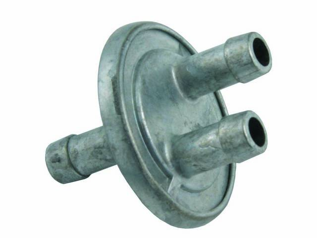 CHECK VALVE, Vacuum Reserve, exact repro with correct