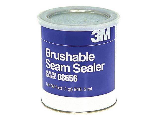SEAM SEALER, BRUSHABLE, GRAY, 1 QUART CAN