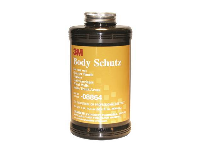 BODY SCHUTZ RUBBERIZED UNDERCOAT, BOTTLE