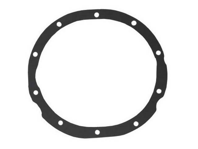 GASKET, Differential Carrier, to axle housing, dark gray