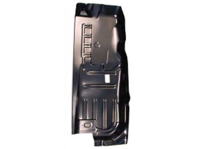 FLOOR PAN, FULL LENGTH, LH, CORRECT PART WITH