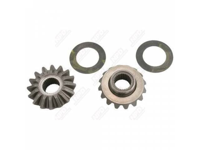 SIDE GEAR KIT, DIFFERENTIAL, 2 GEARS, 2 WASHERS