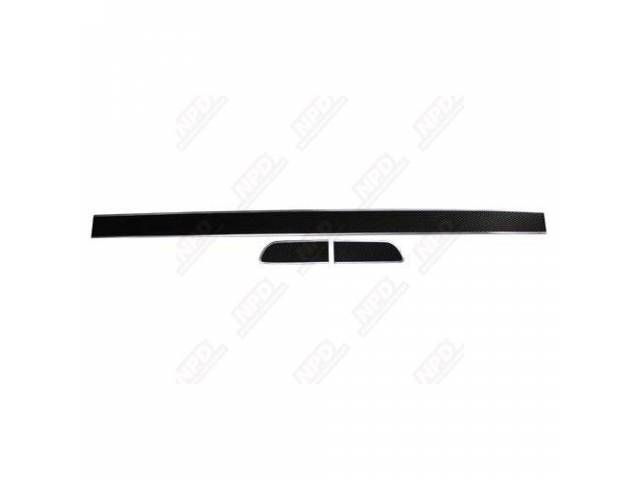 Insert Mesh, Trunk Lid And Quarter Extensions, (3),