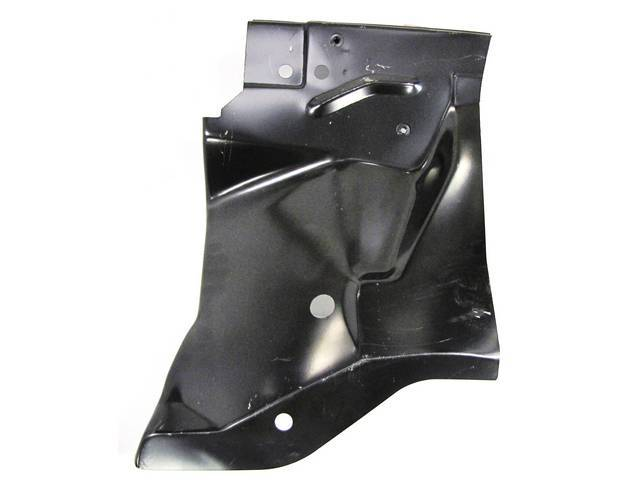 REAR FENDER APRON, LH, IMPORTED