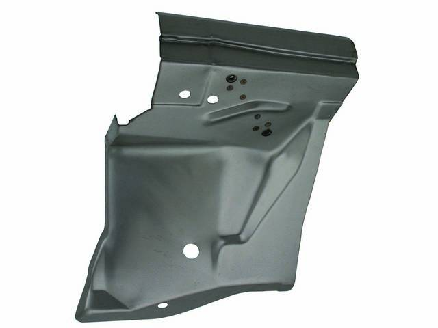 REAR FENDER APRON, LH, CANADIAN MADE, .035 inch