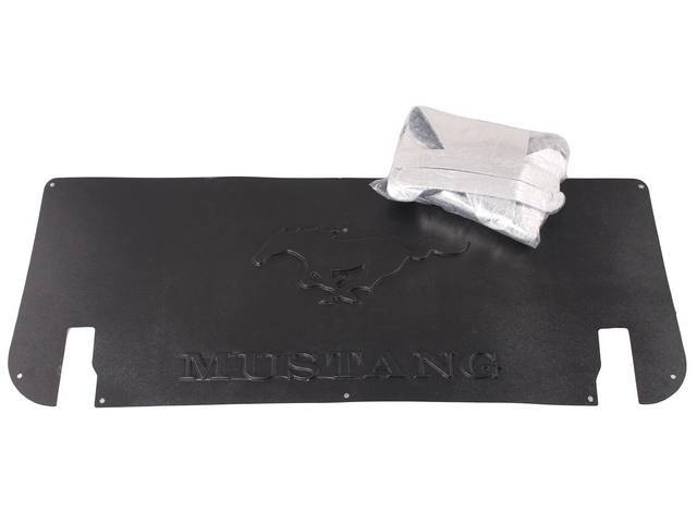 UNDER TRUNK LID COVER & INSULATION, Custom, Mustang