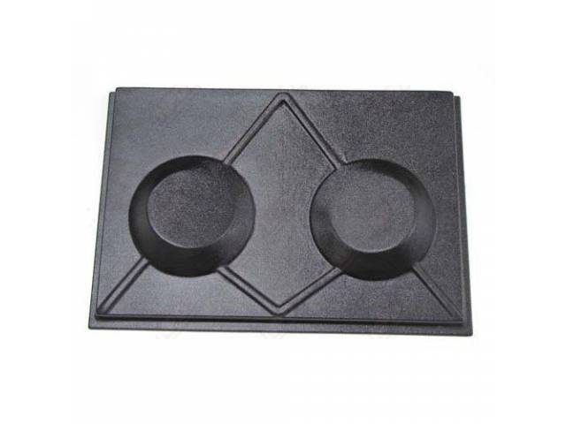 TRAP DOOR CUSTOM BLACK PLASTIC PAINTABLE WITH 6