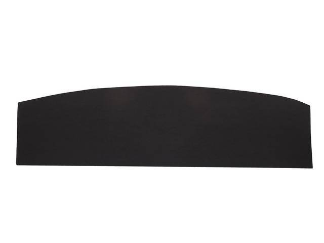PACKAGE TRAY, repro, black paper board