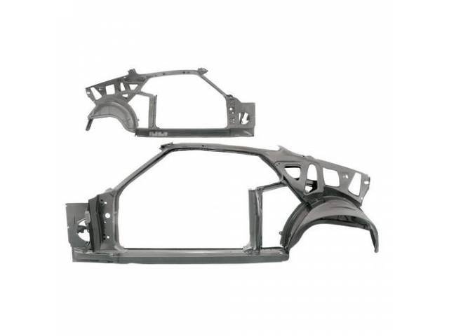 BODY SIDE FRAME ASSEMBLY LH Complete inner side