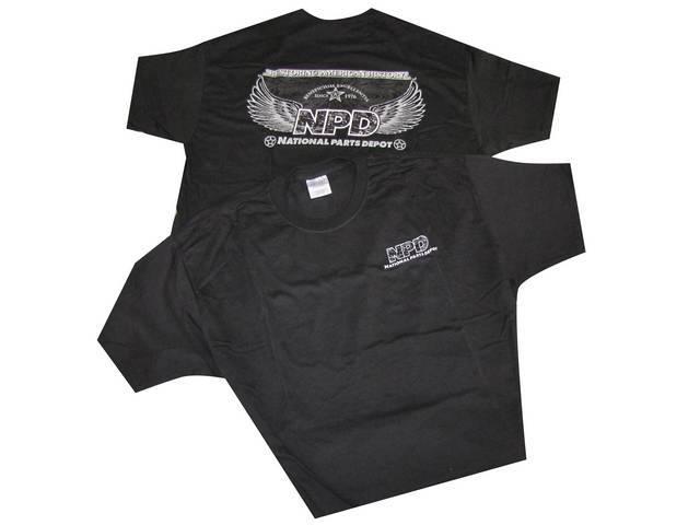 T-Shirt Npd Corporate 2009 Design Black Small 100