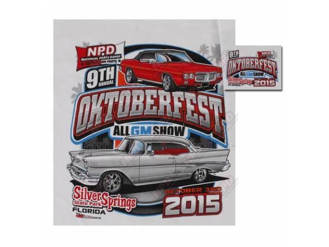 NPD 2015 Oktoberfest Show T-Shirt, Medium