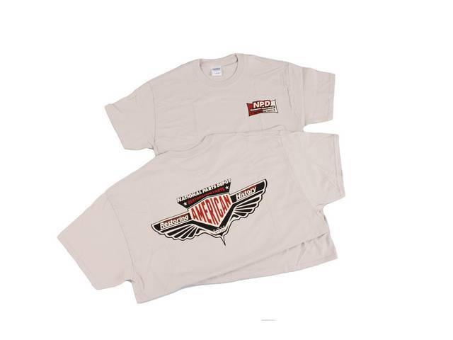 T-Shirt Npd Corporate 2014 Design Sand Small 100