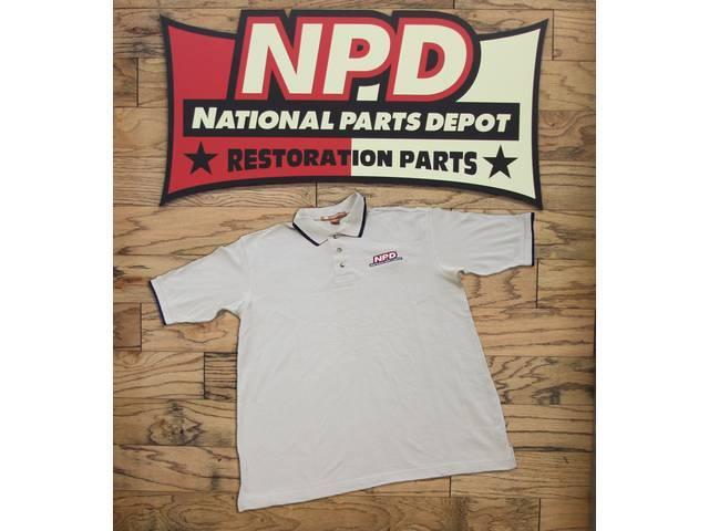 Polo Shirt Npd Stone / Navy Double Extra