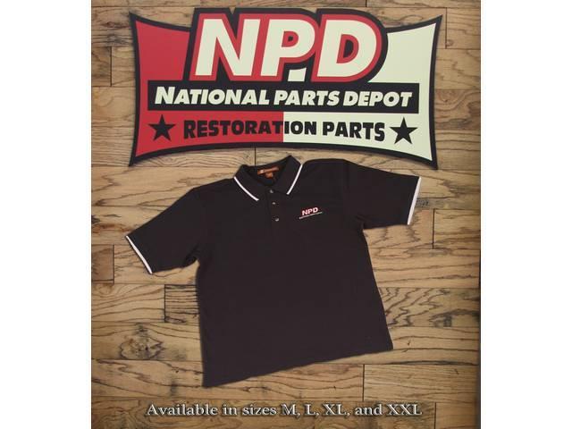 Polo Shirt Npd Navy / White Medium Harriton