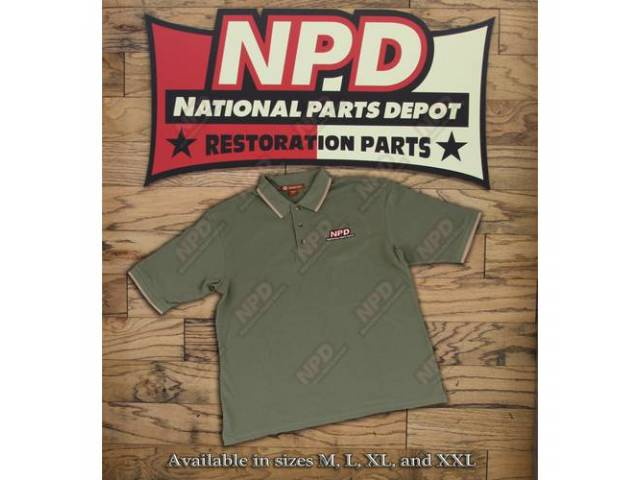 Polo Shirt Npd Dill / Stone Extra Large