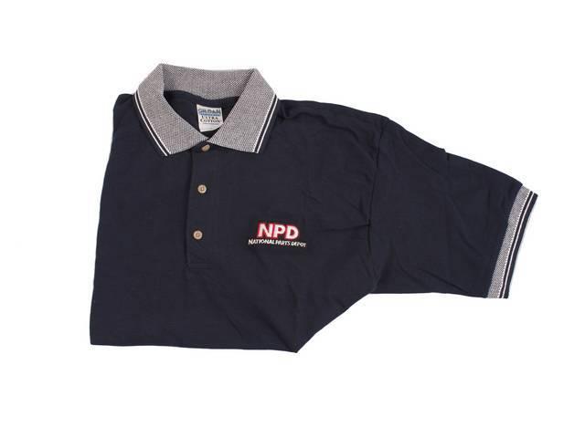 Polo Shirt Npd Navy / White Medium Features