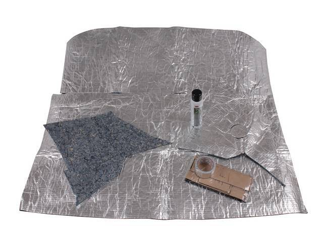 ACOUSTI-SHIELD SET, Roof, sound and thermal insulation package,