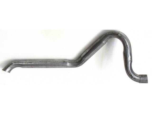 EXHAUST PIPE, OUTLET, SINGLE EXHAUST, 2 1/4 INCH