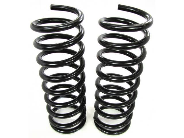 COIL SPRING SET, FRONT, RATED AT 289 LBS
