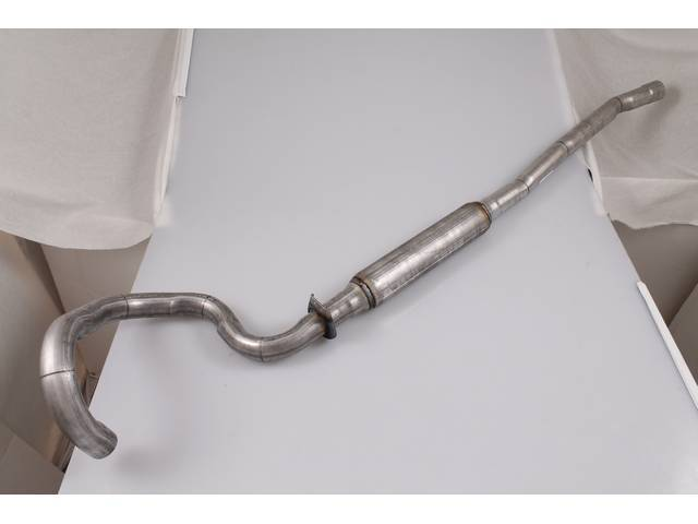 INTERMEDIATE PIPE, Dual Exhaust, transverse, RH, 2 1/4