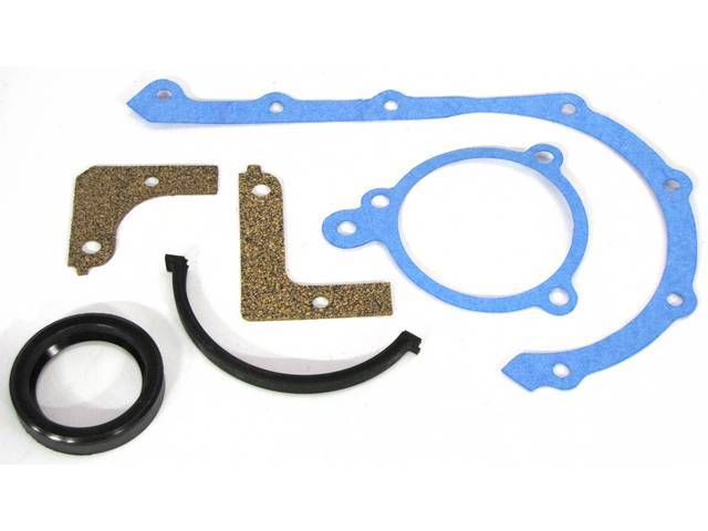TIMING COVER GASKET AND CRANKSHAFT FRONT SEAL