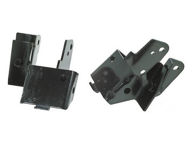 BRACKETS, Motor Mount, pair, use to convert 6