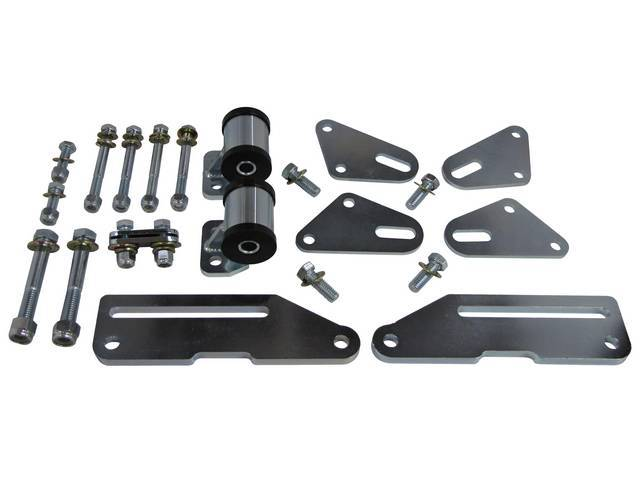 MOTOR MOUNT SET, ADJUSTABLE, CUSTOM 1/2 INCH LOWER,