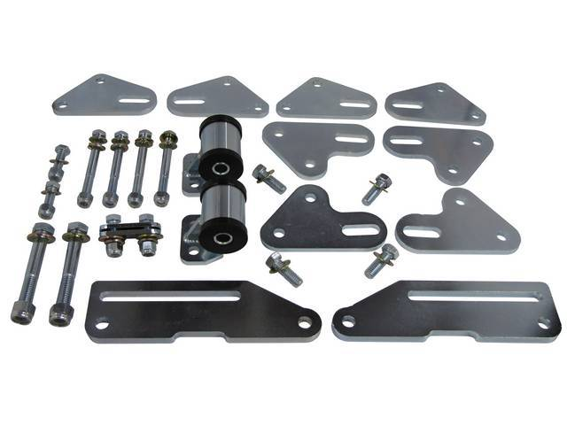 MOTOR MOUNT SET, ADJUSTABLE, CUSTOM COMBINED STANDARD HEIGHT