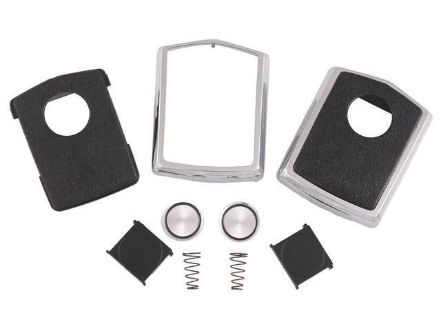 RESTORATION KIT, Belt Buckle, deluxe kit includes chrome