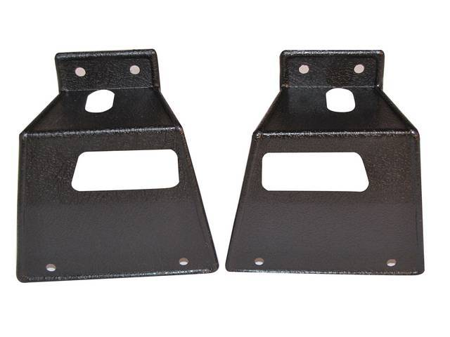 COVERS, Fold Down Seat Latch, pair, improved repro