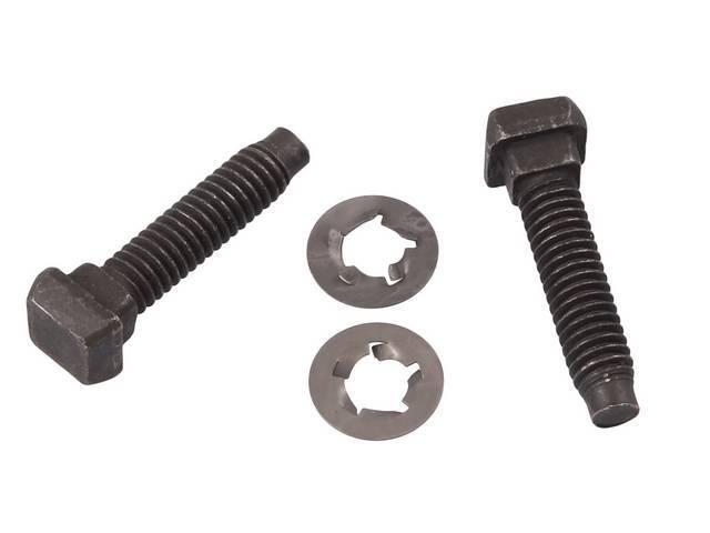 REPAIR KIT, Seat Track Studs, (2), tack weld