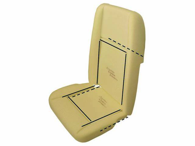 LISTING ROD SET, FRONT SEAT, (16), DOES BOTH