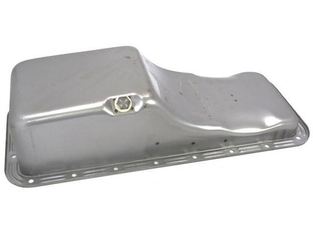 OIL PAN, STEEL, REPLACEMENT, PAINTED