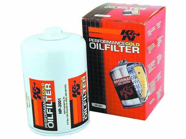 OIL FILTER, K&N, HP SERIES