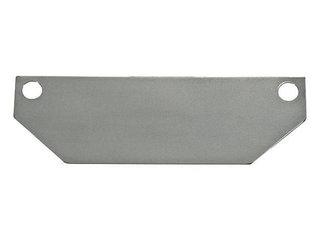 HEAT SHIELDS, Motor Mount, stainless steel, pair,