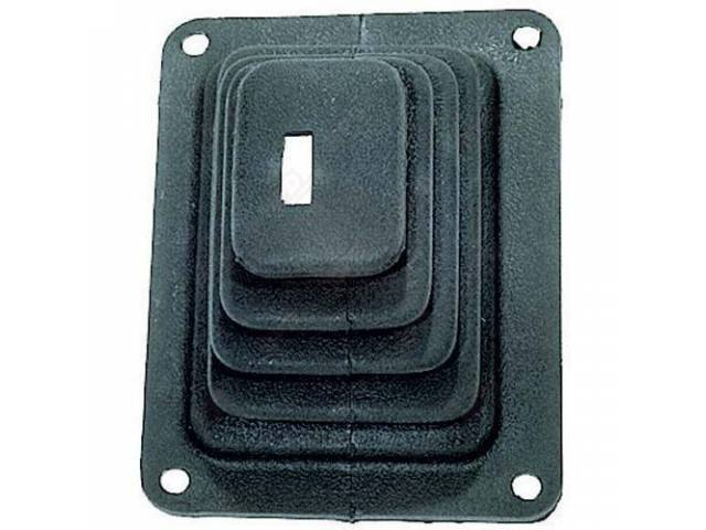 BOOT TRANSMISSION GEAR SHIFT LEVER Rectangular hole for