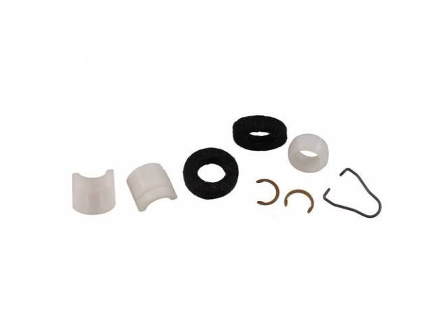 BUSHING KIT Clutch Linkage 7 repro felts clips