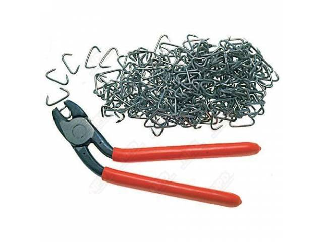 HOG RING AND PLIERS KIT UPHOLSTERY INSTALLATION 250