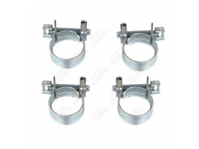 HOSE CLAMP KIT, TRANSMISSION COOLER